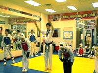kctkd.net -- Ko's Tae Kwon Do Sparring Class